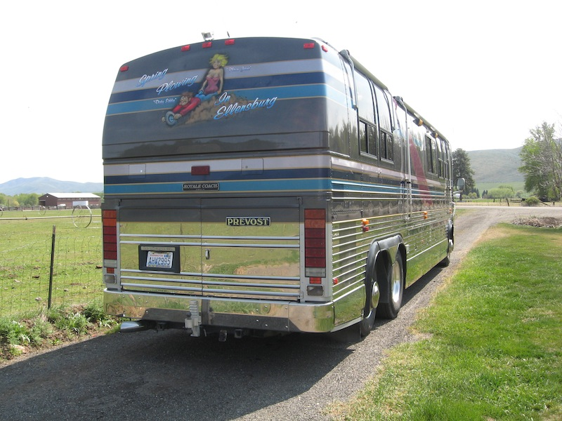 1993 Prevost Royale Xl 40non Slide