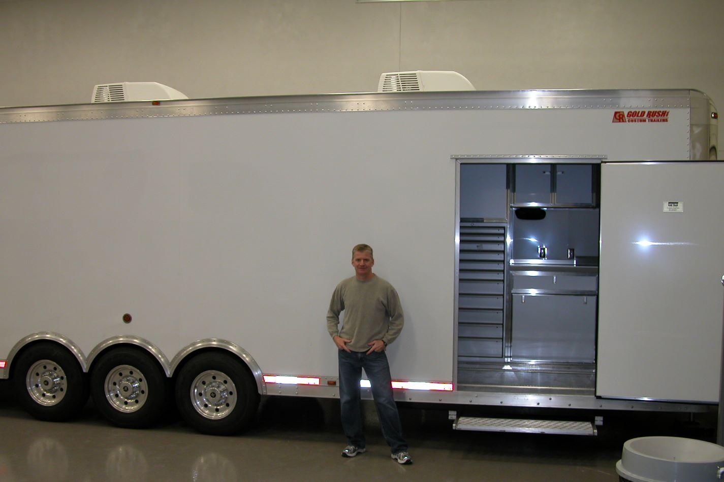 Quarter midget trailer
