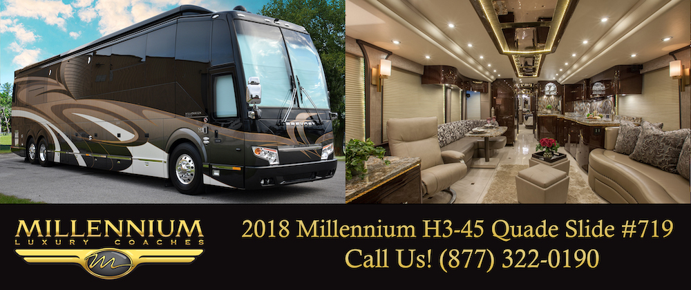 Prevost Millennium For Sale